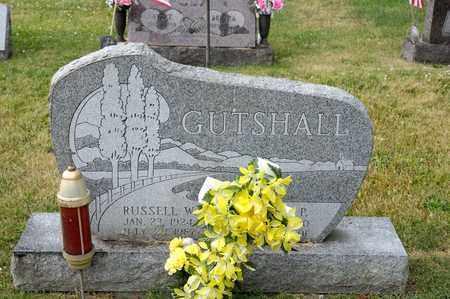 GUTSHALL, RUSSELL W - Richland County, Ohio | RUSSELL W GUTSHALL - Ohio Gravestone Photos