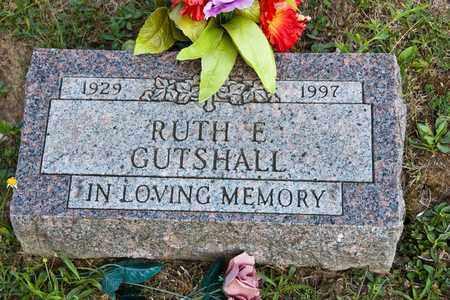 GUTSHALL, RUTH E - Richland County, Ohio   RUTH E GUTSHALL - Ohio Gravestone Photos