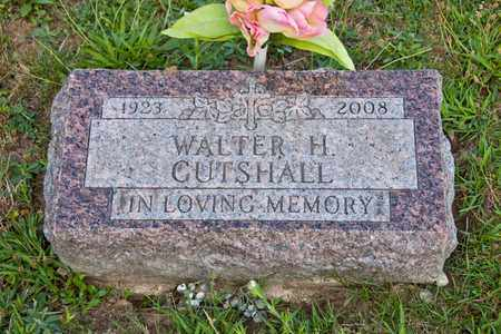 GUTSHALL, WALTER H - Richland County, Ohio | WALTER H GUTSHALL - Ohio Gravestone Photos