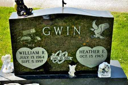 GWIN, WILLIAM R - Richland County, Ohio | WILLIAM R GWIN - Ohio Gravestone Photos