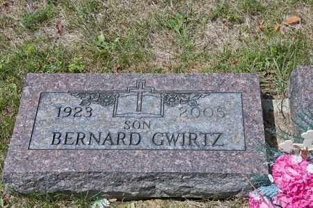 GWIRTZ, BERNARD - Richland County, Ohio   BERNARD GWIRTZ - Ohio Gravestone Photos