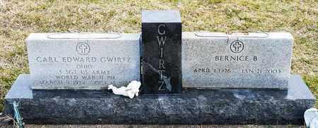 GWIRTZ, CARL EDWARD - Richland County, Ohio | CARL EDWARD GWIRTZ - Ohio Gravestone Photos