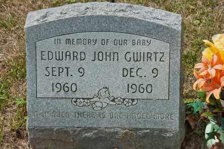 GWIRTZ, EDWARD JOHN - Richland County, Ohio   EDWARD JOHN GWIRTZ - Ohio Gravestone Photos
