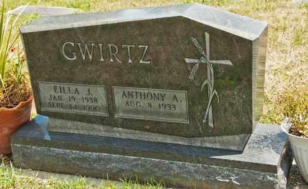 GWIRTZ, EILLA J - Richland County, Ohio | EILLA J GWIRTZ - Ohio Gravestone Photos