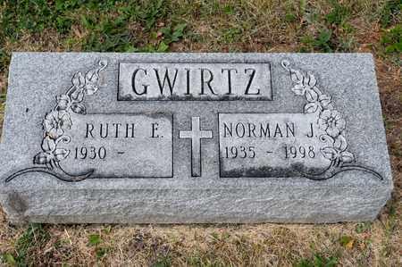 GWIRTZ, NORMAN J - Richland County, Ohio   NORMAN J GWIRTZ - Ohio Gravestone Photos