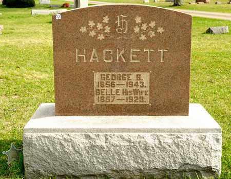 HACKETT, GEORGE B - Richland County, Ohio   GEORGE B HACKETT - Ohio Gravestone Photos