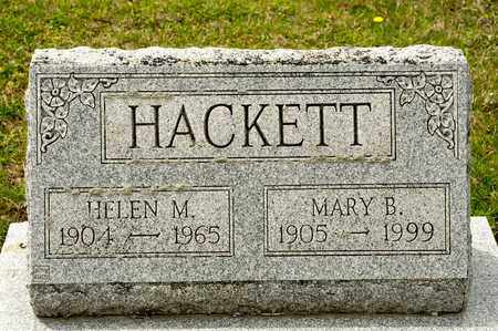 HACKETT, HELEN M - Richland County, Ohio | HELEN M HACKETT - Ohio Gravestone Photos