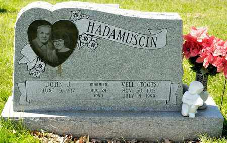 HADAMUSCIN, VELL - Richland County, Ohio | VELL HADAMUSCIN - Ohio Gravestone Photos