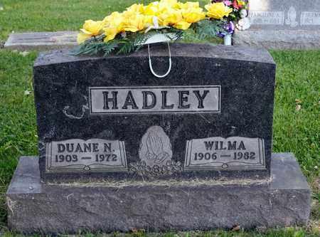 HADLEY, DUANE N - Richland County, Ohio | DUANE N HADLEY - Ohio Gravestone Photos