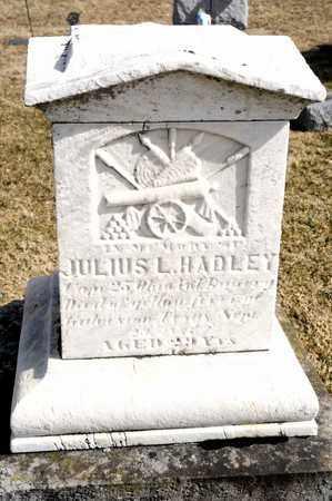 HADLEY, JULIUS L - Richland County, Ohio   JULIUS L HADLEY - Ohio Gravestone Photos