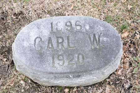 HAFER, CARL W - Richland County, Ohio   CARL W HAFER - Ohio Gravestone Photos