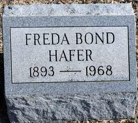HAFER, FREDA - Richland County, Ohio | FREDA HAFER - Ohio Gravestone Photos