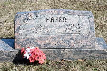 HAFER, HAZEL F - Richland County, Ohio | HAZEL F HAFER - Ohio Gravestone Photos
