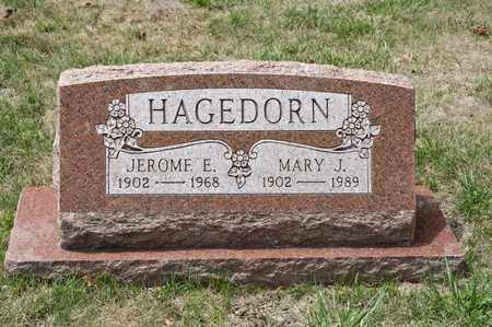HAGEDORN, MARY J - Richland County, Ohio | MARY J HAGEDORN - Ohio Gravestone Photos