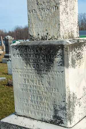 HAGENBUCH, JACOB S - Richland County, Ohio | JACOB S HAGENBUCH - Ohio Gravestone Photos