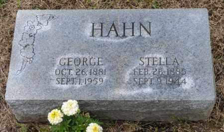 HAHN, STELLA - Richland County, Ohio | STELLA HAHN - Ohio Gravestone Photos