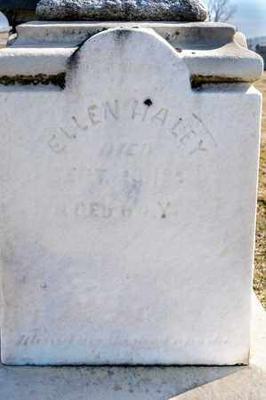 HALEY, ELLEN - Richland County, Ohio | ELLEN HALEY - Ohio Gravestone Photos