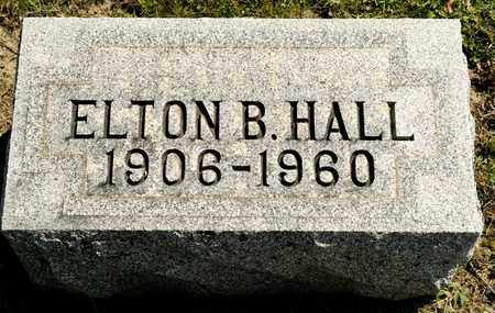 HALL, ELTON B - Richland County, Ohio | ELTON B HALL - Ohio Gravestone Photos