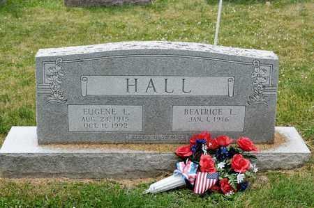HALL, EUGENE L - Richland County, Ohio | EUGENE L HALL - Ohio Gravestone Photos