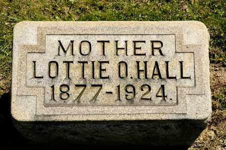 HALL, LOTTIE O - Richland County, Ohio | LOTTIE O HALL - Ohio Gravestone Photos