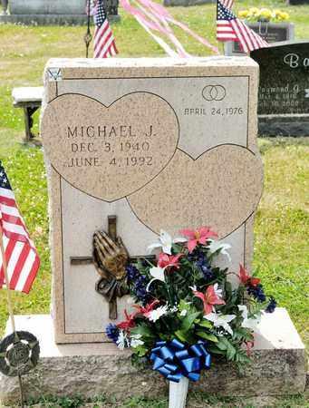 HALL, MICHAEL J - Richland County, Ohio   MICHAEL J HALL - Ohio Gravestone Photos