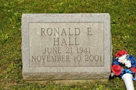 HALL, RONALD E - Richland County, Ohio | RONALD E HALL - Ohio Gravestone Photos
