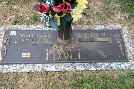 HALL SR, DAVIS G - Richland County, Ohio | DAVIS G HALL SR - Ohio Gravestone Photos
