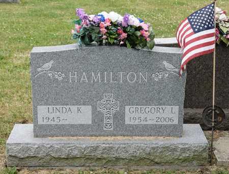 HAMILTON, GREGORY L - Richland County, Ohio | GREGORY L HAMILTON - Ohio Gravestone Photos
