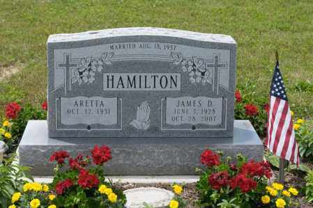 HAMILTON, JAMES D - Richland County, Ohio | JAMES D HAMILTON - Ohio Gravestone Photos