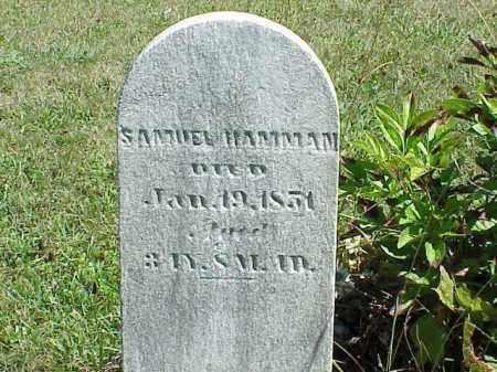 HAMMAN, SAMUEL - Richland County, Ohio   SAMUEL HAMMAN - Ohio Gravestone Photos
