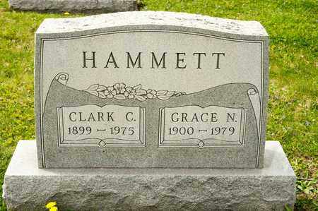 HAMMETT, GRACE N - Richland County, Ohio   GRACE N HAMMETT - Ohio Gravestone Photos