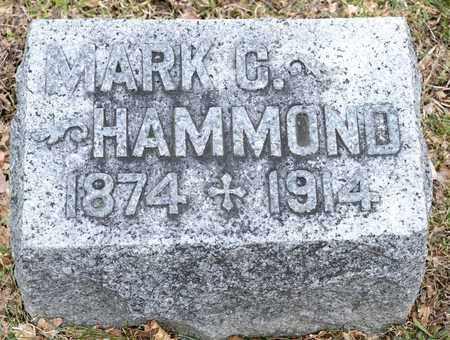 HAMMOND, MARK C - Richland County, Ohio | MARK C HAMMOND - Ohio Gravestone Photos