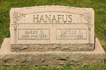 HANAFUS, HARRY D - Richland County, Ohio | HARRY D HANAFUS - Ohio Gravestone Photos