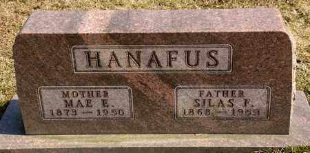HANAFUS, SILAS F - Richland County, Ohio | SILAS F HANAFUS - Ohio Gravestone Photos
