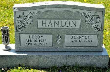 HANLON, LEROY - Richland County, Ohio | LEROY HANLON - Ohio Gravestone Photos