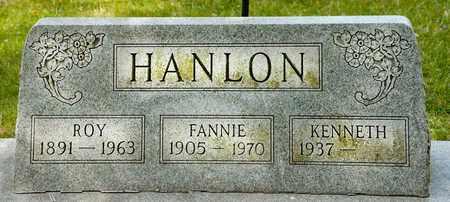 HANLON, ROY - Richland County, Ohio   ROY HANLON - Ohio Gravestone Photos