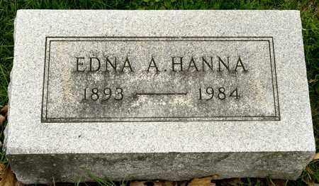 HANNA, EDNA A - Richland County, Ohio | EDNA A HANNA - Ohio Gravestone Photos