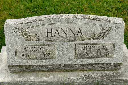 HANNA, MINNIE M - Richland County, Ohio | MINNIE M HANNA - Ohio Gravestone Photos