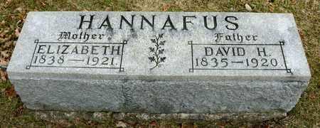 HANNAFUS, DAVID H - Richland County, Ohio   DAVID H HANNAFUS - Ohio Gravestone Photos