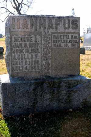 HANNAFUS, GEORGE A - Richland County, Ohio | GEORGE A HANNAFUS - Ohio Gravestone Photos