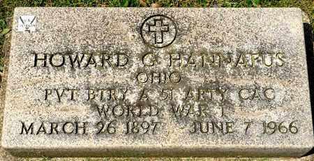 HANNAFUS, HOWARD G - Richland County, Ohio   HOWARD G HANNAFUS - Ohio Gravestone Photos