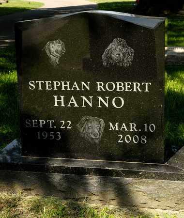 HANNO, STEPHAN ROBERT - Richland County, Ohio | STEPHAN ROBERT HANNO - Ohio Gravestone Photos