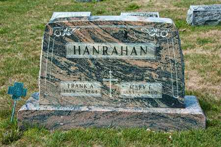 HANRAHAN, MARY E - Richland County, Ohio | MARY E HANRAHAN - Ohio Gravestone Photos