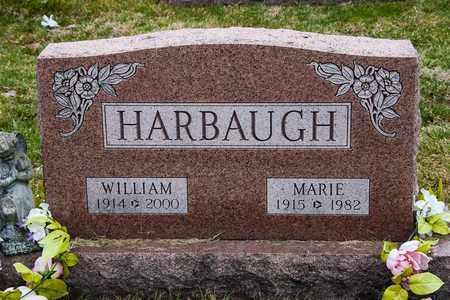 HARBAUGH, WILLIAM - Richland County, Ohio   WILLIAM HARBAUGH - Ohio Gravestone Photos