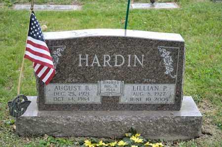 HARDIN, LILLIAN P - Richland County, Ohio | LILLIAN P HARDIN - Ohio Gravestone Photos