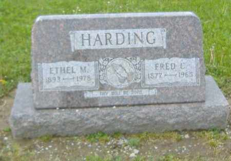 HARDING, FRED C. - Richland County, Ohio | FRED C. HARDING - Ohio Gravestone Photos