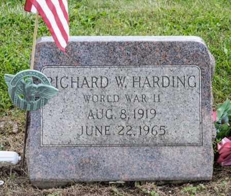 HARDING, RICHARD W - Richland County, Ohio   RICHARD W HARDING - Ohio Gravestone Photos