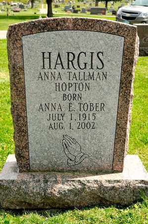 HARGIS, ANNA - Richland County, Ohio | ANNA HARGIS - Ohio Gravestone Photos