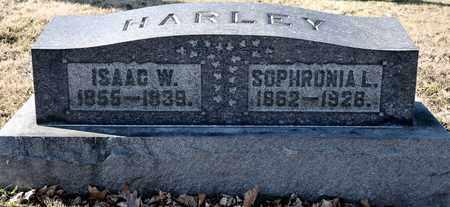 HARLEY, ISAAC W - Richland County, Ohio   ISAAC W HARLEY - Ohio Gravestone Photos