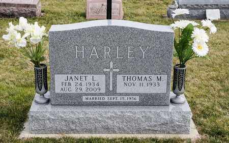 HARLEY, JANET L - Richland County, Ohio | JANET L HARLEY - Ohio Gravestone Photos